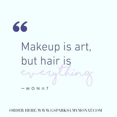 Contact me today to learn more about MONAT! http://michellekstephens.mymonat.com/