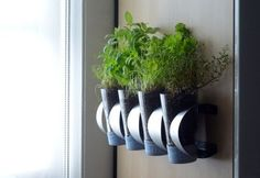 Wine racks like IKEA's VURM aren't just handy for storing your favorite bottles of vino. As proven by this project on Curbly, you can make a pretty awesome indoor herb garden, too.