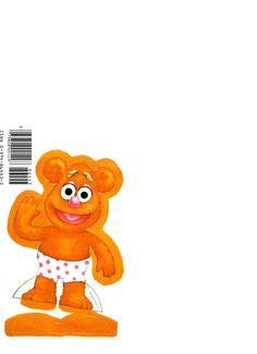 "MUPPET BABIES ""Elmo"" 1984 Henson Associates, Inc., 7 of 7"