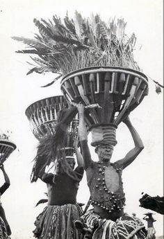 Africa | Bamileke dancers. Cameroon || Photographer unknown