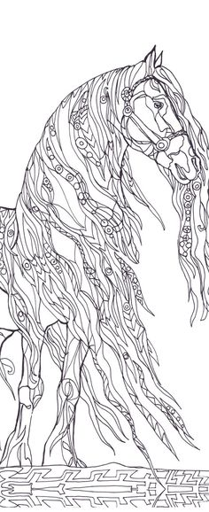 25 free adult coloring pages | free coloring, 100 free and ... - Mom Baby Horse Coloring Pages