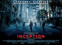 The real poster for Inception leads with the tagline, 'Your mind is the scene of the crime' One of my favorite movies ever.