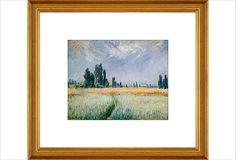 Monet, Wheat Field, 1881 on OneKingsLane.com