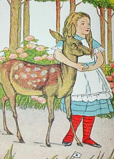 Alice in Wonderland Frontispiece from a 1898 edition