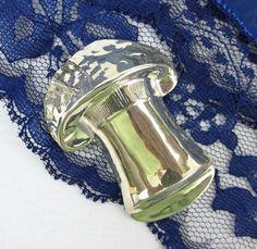 Mushroom Pin in Sterling Silver Vintage by 2goodponiesvintage