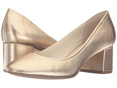 Steve Madden Tomorrow Gold Leather - 6pm.com