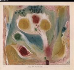 Paul Klee - my late father's favorite artist and influence on his own art!