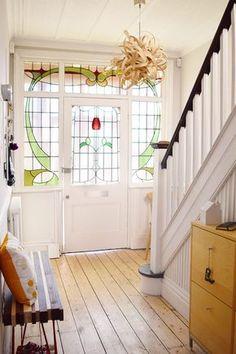hallway decorating 473089135859594106 - Edwardian Hallway – Cornforth White Source by Edwardian Hallway, Edwardian House, 1930s Hallway, Victorian Bathroom, Edwardian Staircase, 1930s House Interior, 1920s Interior Design, White Hallway, Hallway Paint