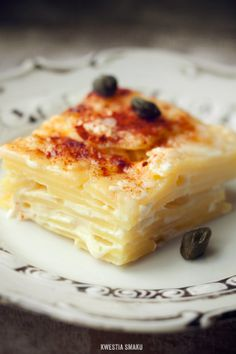 Gratin dauphinois with Salted Capers and Smoked Paprika