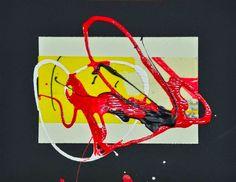 """L'arte di Vittorio Amadio: Vittorio Amadio. Il Murakami che dipingo. """"Aomame. Tirare fuori il topo"""""""