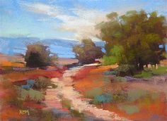 """Daily Paintworks - """"Back to Basics with Pastels"""" by Karen Margulis"""