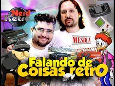RETRO GAME COLLECTION  - FALANDO DE COISAS RETRO -  NERD RETRÔ
