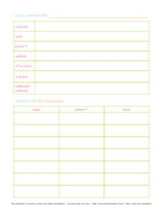 great organization blog (with free printables)