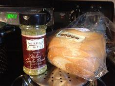 Got extra Italian Bread. Use our yummy Italian Garlic Bread Seasoning.