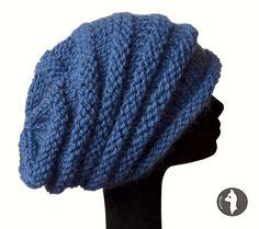 Baby Alpaca Beanie Hat, Slouchy Beanie Hat
