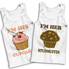 I'm His Cupcake I'm Her Studmuffin Best by AwesomeBestFriendsTs