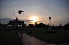 Sunset in Phnom Penh, Cambodia by Liew #travel #asia