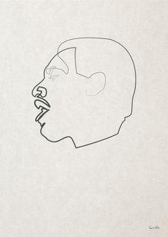 One-Line of Otis Redding by Quibe
