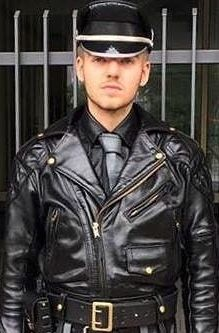 347099c46fd586 Gay leather boy. | Leather Biker Jackets | Leather, Leather men ...