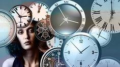 Tempo, Orologio, Testa, Donna