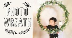 フラフープで簡単リース♪100均造花で作るナチュラルフォトリース | ARCH DAYSPARTY | ARCH DAYS Photo Wreath, Half Birthday, Birthday Decorations, Best Part Of Me, Handicraft, Baby Photos, Photo Booth, Diy And Crafts, Anniversary
