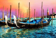 Venice City Gondola Best Wallppaers In High Definition For Background Framed Canvas Prints, Canvas Frame, Canvas Wall Art, Wall Art Prints, Canvas Canvas, Sunset Pictures, Wall Art Pictures, Canvas Pictures, Large Painting