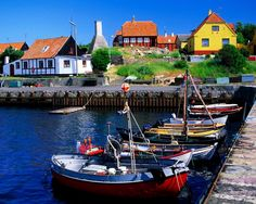Denmark Harbour - Explore the World with Travel Nerd Nici, one Country at a Time. http://TravelNerdNici.com
