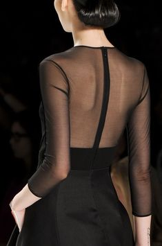 Sheer black back ❤️