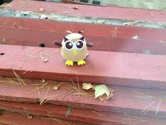 """Owly: """"Maybe I can build my own cabin in the woods."""" Day 277 of #yearofowly #lifeofowly"""