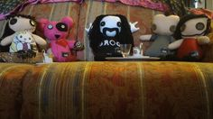 Puppetz,  tutti assieme. #richieste #puppetz #pupazzi #pannolenci