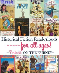These historical fiction read-alouds will bring your homeschool history lessons to life! | embarkonthejourney.com