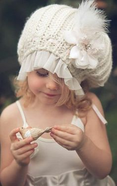 One Good Thread - Dollcake Oh So Girly  - MORNING DUE (Dew) - BEANIE CAP | One Good Thread, $34.90 http://www.onegoodthread.com/