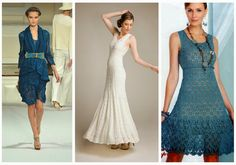 A roundup of free crochet dress patterns