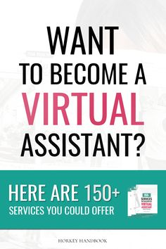 Want to become a virtual assistant, but don't know what to offer? Check out this awesome list of 150+ services you can start offering to bloggers & online business owners! Click through for your FREE copy and pick out your top services today! #aff
