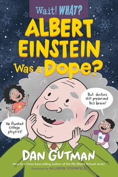 A quirky new biography series that casts fresh light on high-interest historic figures. Did you know that Albert Einstein was a high school dropout, and that he failed his physics class when he finally made it to college? Or that when he died, his brain and eyeballs were removed from his body? Ever wondered why his hair looked so wild? Siblings Paige and Turner do-and they've collected some of the kookiest and most unusual facts about the world-famous scientist, from his childhood and school...