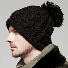 Aliexpress.com  Comprar Envío gratis nuevo estilo de moda hombres gorros  tejidos caliente adultas 2621056bd36