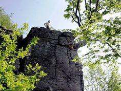 Kalamárka- typická andezitová skalná Bb