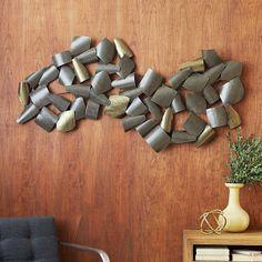 Wanddeko fürs Esszimmer – coole Wandgestaltung für Ästheten - Wanddeko fürs Esszimmer gewunden metallisch töne