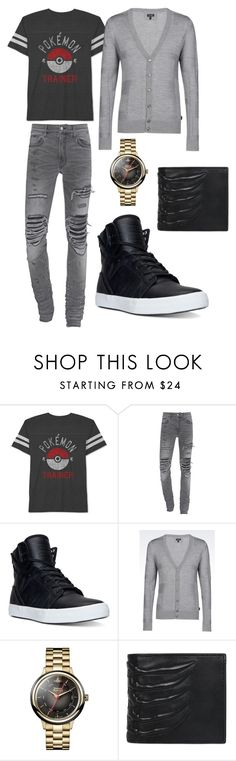"""""""I wanna be the very best"""" by maria-farfan on Polyvore featuring JEM, Supra, Armani Jeans, Vivienne Westwood, Alexander McQueen, men's fashion and menswear"""
