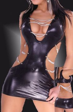 wear sexy fantasy dress chain dress women by butterfliesatsunset, $95.00