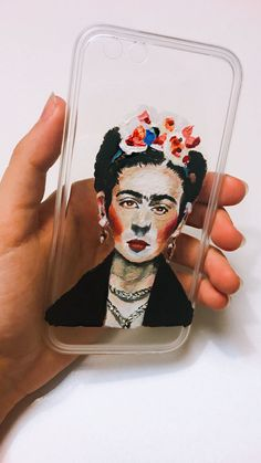 Frida Kahlo Painted Case #FridaKahlo #abstract #art #phone #cases #iphone6cases #iphone7cases #tumblr