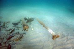 "Ireland Recovers Artifacts From Exposed Spanish Armada Ship ""La Juliana"", Shipwrecked off Sligo in 1588: http://www.archaeology.org/news/3412-150617-ireland-spanish-armada"
