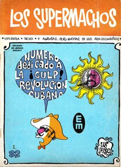 """Comics Mexicanos de Jediskater: Los Supermachos de Rius No. 82, """"Numero Dedicado a..."""