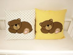 decorative pillow case nursery pillow by LoveColorsByJulianna 20x20 Pillow Covers, Decorative Pillow Cases, Woodland Nursery, Woodland Animals, Colorful Pillows, Child Love, Home Deco, Nursery Decor, Kids Room