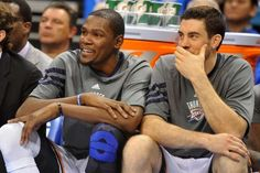 Kevin Durant and Nick Collison