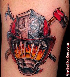 Find and save ideas about Firefighter equipments tattoo design on Tattoos Book. More than FREE TATTOOS Firefighter Mask, Firefighter Decals, Firefighter Tattoos, Helmet Tattoo, Mask Tattoo, Fireman Tattoo, Simple Tribal Tattoos, Henna, Flame Tattoos