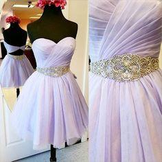 Free Shipping Sweetheart Neck Beaded Tulle Graduation Dresses Mini Short Homecoming Party Dresses Sweet 16 vestido de fiesta