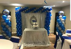 A balloon decoration a curtain backdrop set up we did at a recent event. Balloon Arrangements, Balloon Decorations, Balloon Delivery, Recent Events, Backdrops, Balloons, Party, Home Decor, Globes