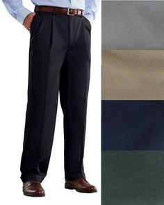 Croft Barrow Mens Pants Classic Fit Pleated front Cuffed sizes 30 32 34 NEW 19.99 http://www.ebay.com/itm/Croft-Barrow-Mens-Pants-Classic-Fit-Pleated-front-Cuffed-sizes-30-32-34-NEW-/332323534011?ssPageName=STRK:MESE:IT