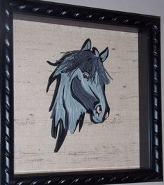 Horse - Tranquillity Quilling Designs by Djay